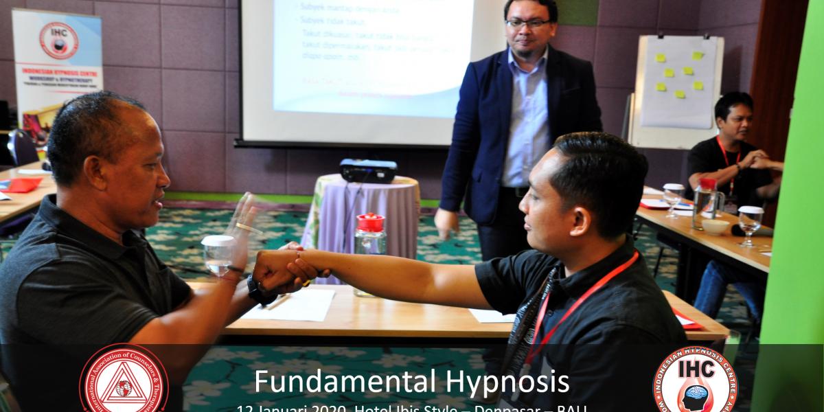 Andri Hakim1 - Fundamental Hypnosis - Januari 12, Denpasar Bali 2020