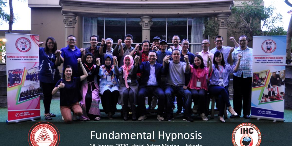 Andri Hakim1 - Fundamental Hypnosis - Januari 18, Ancol Jakarta 2020