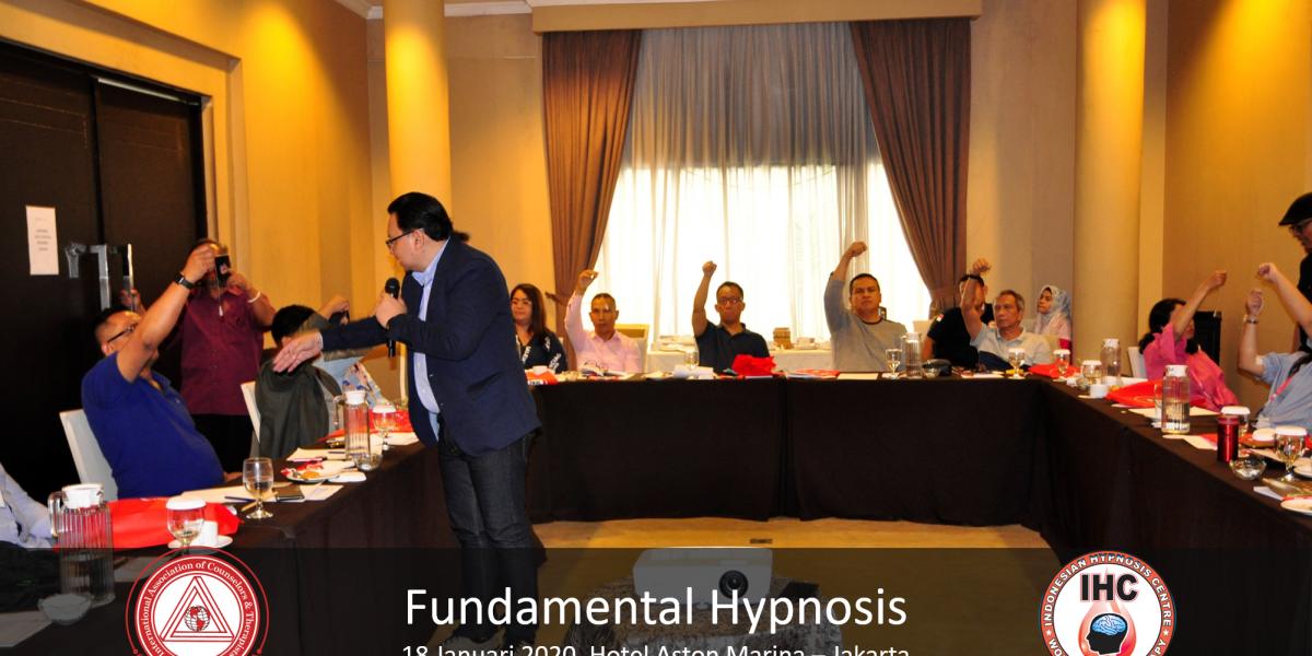 Andri Hakim3 - Fundamental Hypnosis - Januari 18, Ancol Jakarta 2020