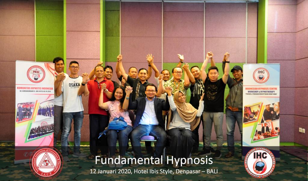 Fundamental Hypnosis - Januari 12, Denpasar Bali 2020 01