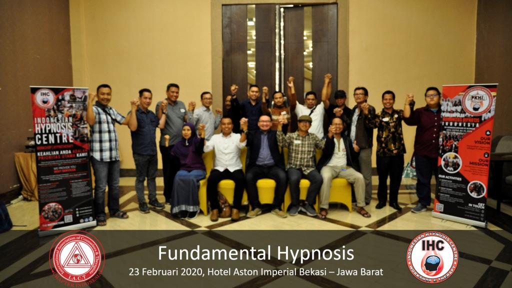 Andri Hakim1 - Fundamental Hypnosis - Februari 23, Bekasi 2020