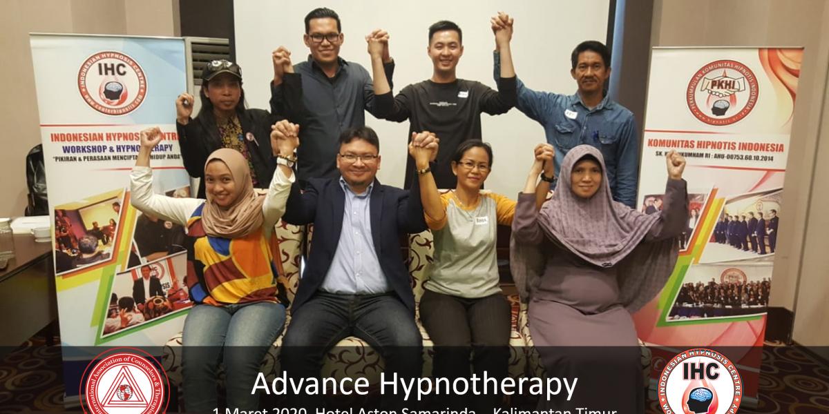 Advance Hypnotherapy - Maret 1, Samarinda 2020 01