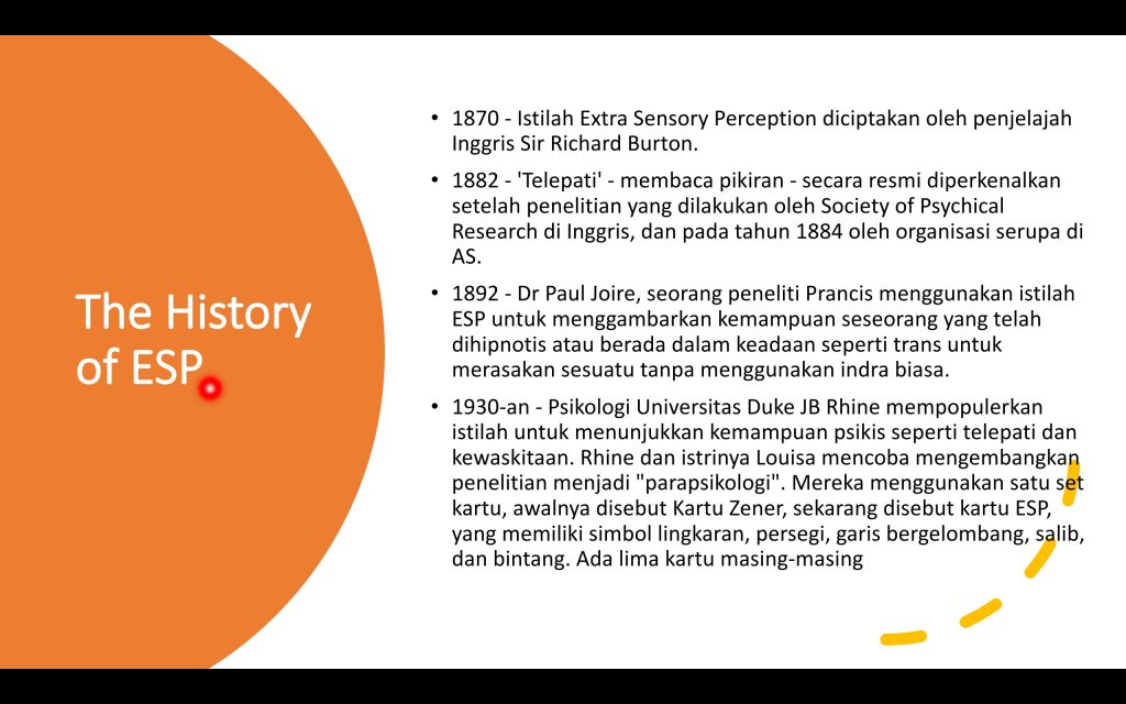 Sejarah ESP