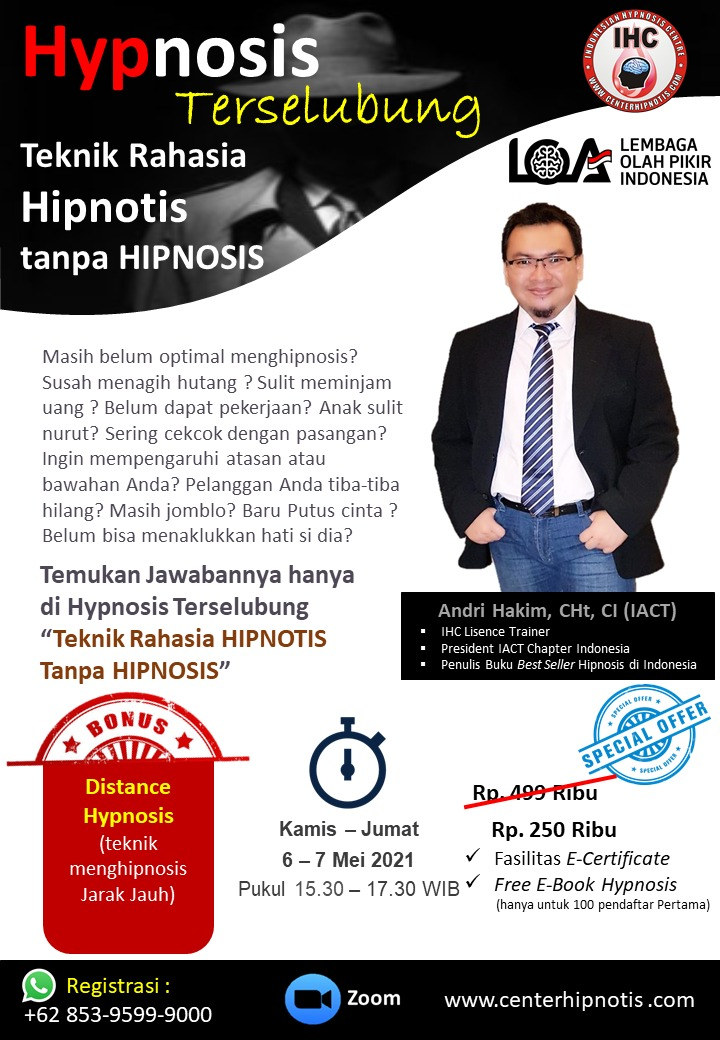 hypnosis terselubung - andri hakim mei 2021
