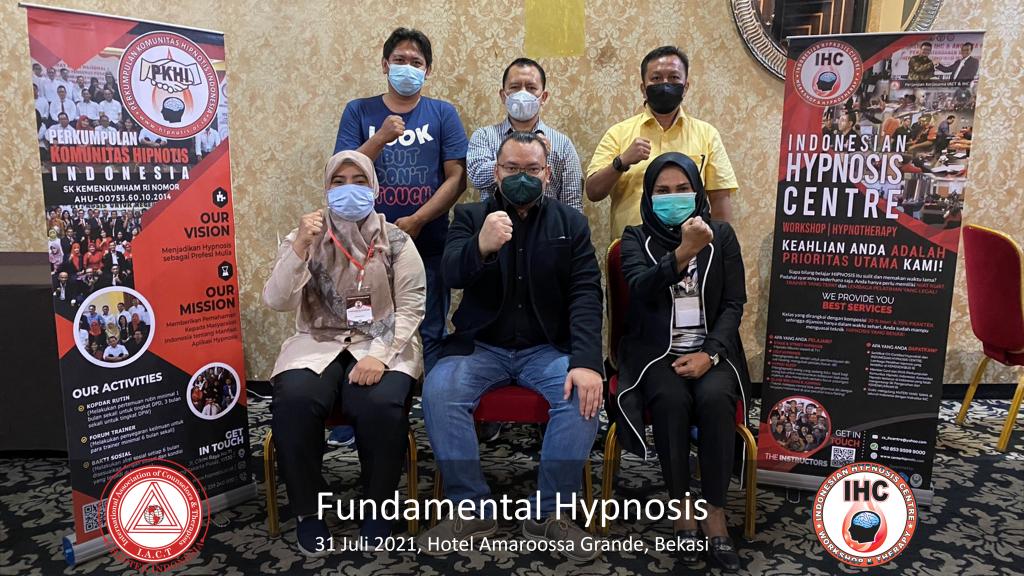Andri Hakim 1 Fundamental Hypnosis - Bekasi 31 Juli 2021