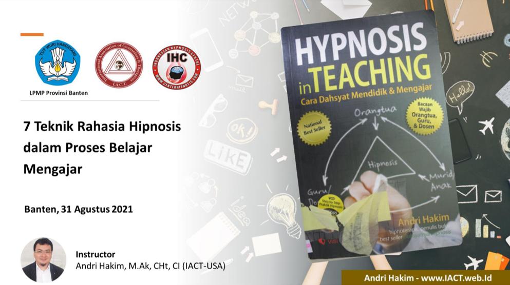 Hypnosis In Teaching - LPMP Provinsi Banten