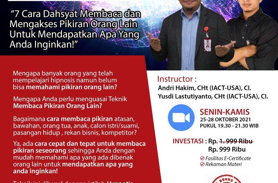Hypnotic Mind Reading Andri Hakim Yusdi Lastutiyanto